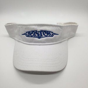 Boston Tour 40th Anniversary Visor White 2016